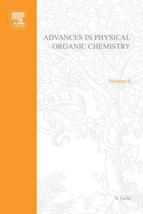 ADV PHYSICAL ORGANIC CHEMISTRY V6 APL