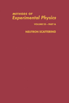 Neutron Scattering. Methods of Experimental Physics, Volume 23 - Part A.