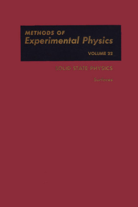 Solid State Physics: Surfaces. Methods of Experimental Physics, Volume 22.
