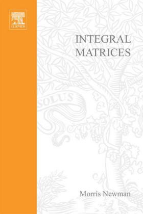 Integral matrices