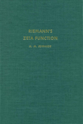 Riemanns Zeta Function. Pure and Applied Mathematics.