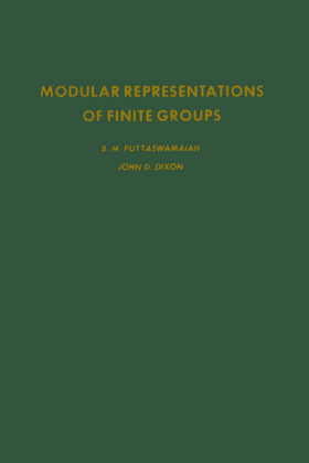 Modular representations of finite groups. Pure and Applied Mathematics: A Series of Monographs and Textbooks.