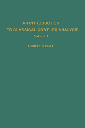 An introduction to classical complex analysis. Volume I