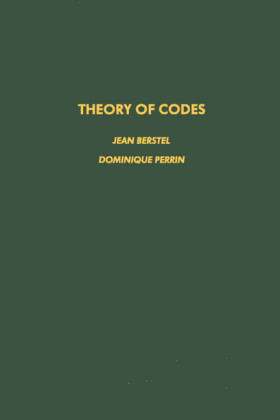 Theory of Codes. Pure and Applied Mathematics.