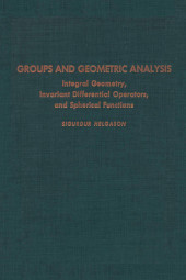 Groups & Geometric Analysis