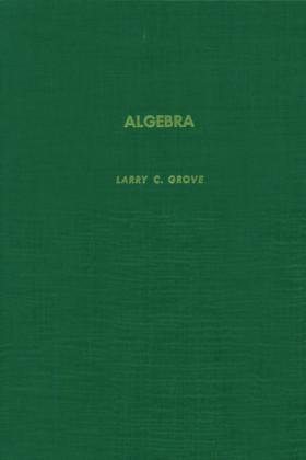 Algebra. Pure and Applied Mathematics.