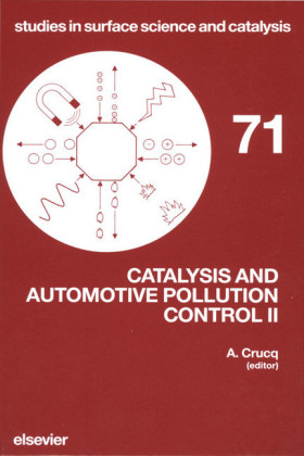 Catalysis and Automotive Pollution Control II. Studies in Surface Science and Catalysis, Volume 71.