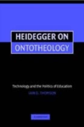 Heidegger on Ontotheology