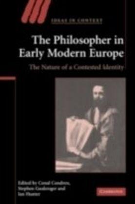 Philosopher in Early Modern Europe