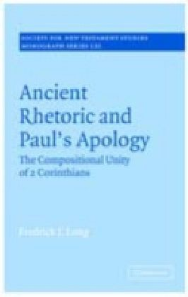 Ancient Rhetoric and Paul's Apology