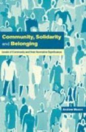 Community, Solidarity and Belonging