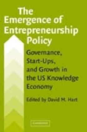 Emergence of Entrepreneurship Policy