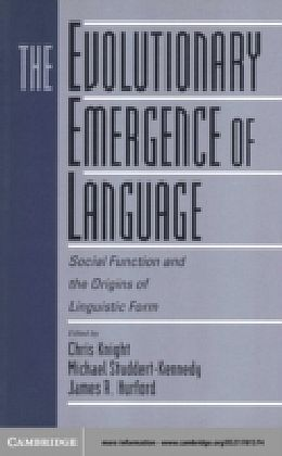 Evolutionary Emergence of Language