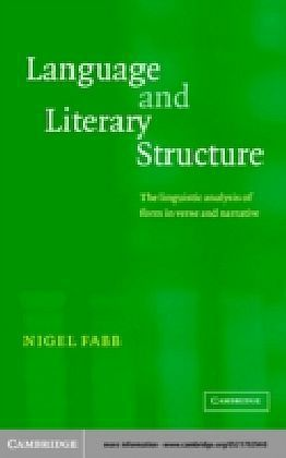 Language and Literary Structure