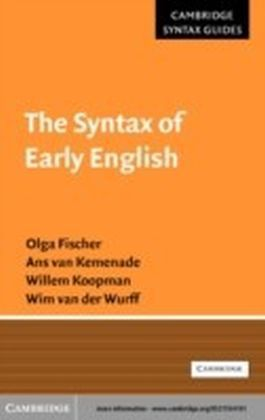 Syntax of Early English
