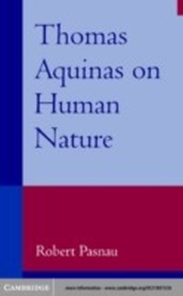 Thomas Aquinas on Human Nature