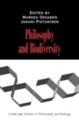 Philosophy and Biodiversity
