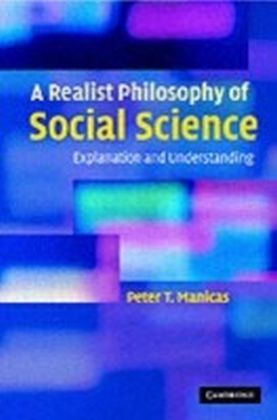 Realist Philosophy of Social Science