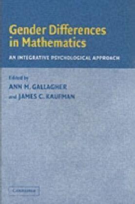 Gender Differences in Mathematics