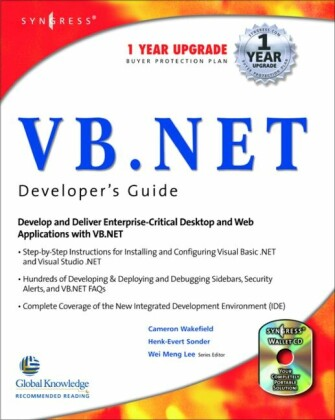 VB.Net Web Developer's Guide