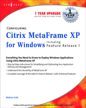 Configuring Citrix MetaFrame XP for Windows