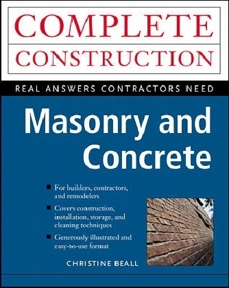 Masonry and Concrete for Residential Construction