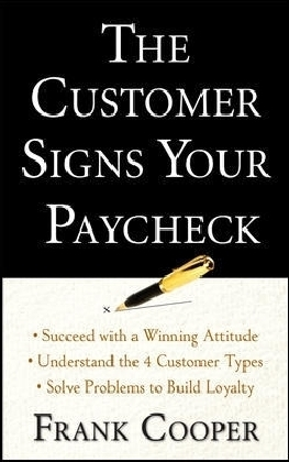 Customer Signs Your Paycheck