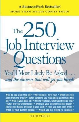 250 Job Interview Questions