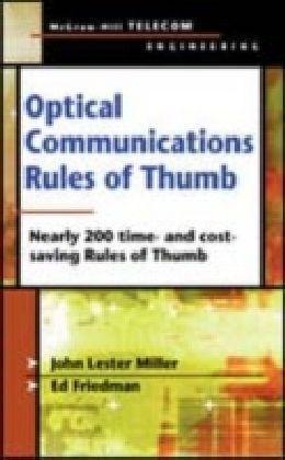 Optical Communications Rules of Thumb