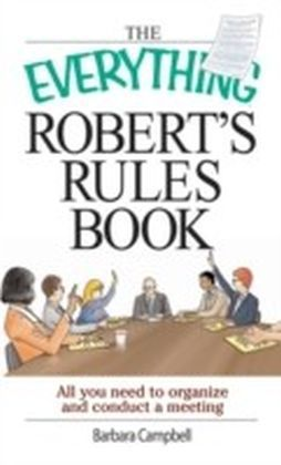 Everything Robert's Rules Book
