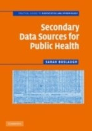 Secondary Data Sources for Public Health