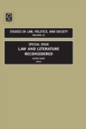 Law and Literature Reconsidered