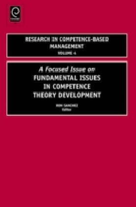 Fundamental Issues in Competence Theory Development