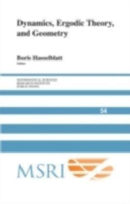 Dynamics, Ergodic Theory and Geometry