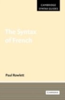 Syntax of French