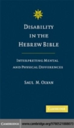 Disability in the Hebrew Bible