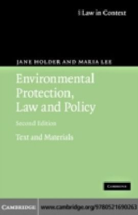 Environmental Protection, Law and Policy