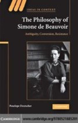 Philosophy of Simone de Beauvoir