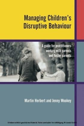 Managing Children's Disruptive Behaviour