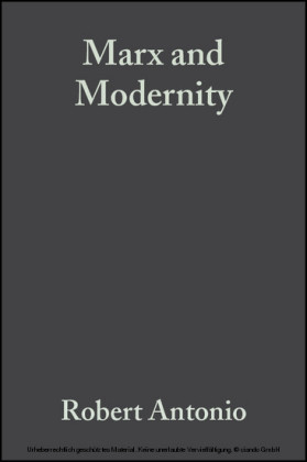 Marx and Modernity