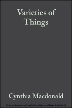 Varieties of Things