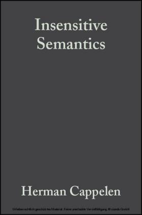 Insensitive Semantics