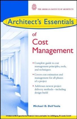 Architect's Essentials of Cost Management