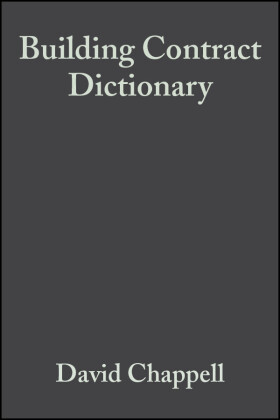 Building Contract Dictionary