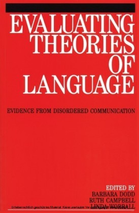 Evaluating Theories of Language,