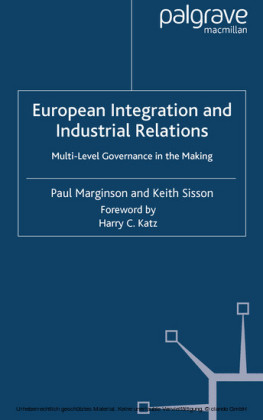 European Integration and Industrial Relations
