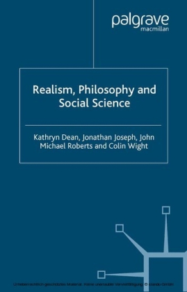 Realism, Philosophy and Social Science