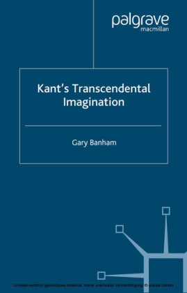 Kant's Transcendental Imagination