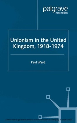 Unionism in the United Kingdom, 1918-1974