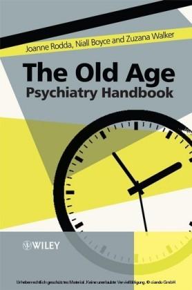 The Old Age Psychiatry Handbook